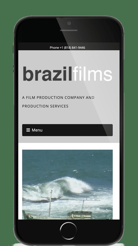 Site web Brazilfilms - Los Angeles